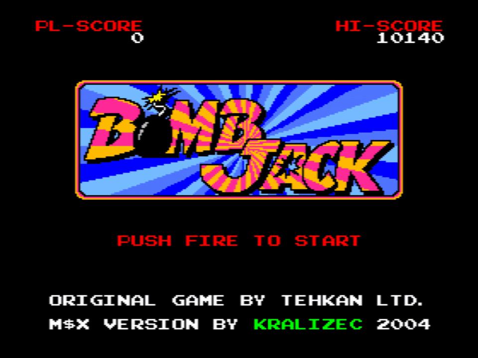 Bomb Jack (MSX2)