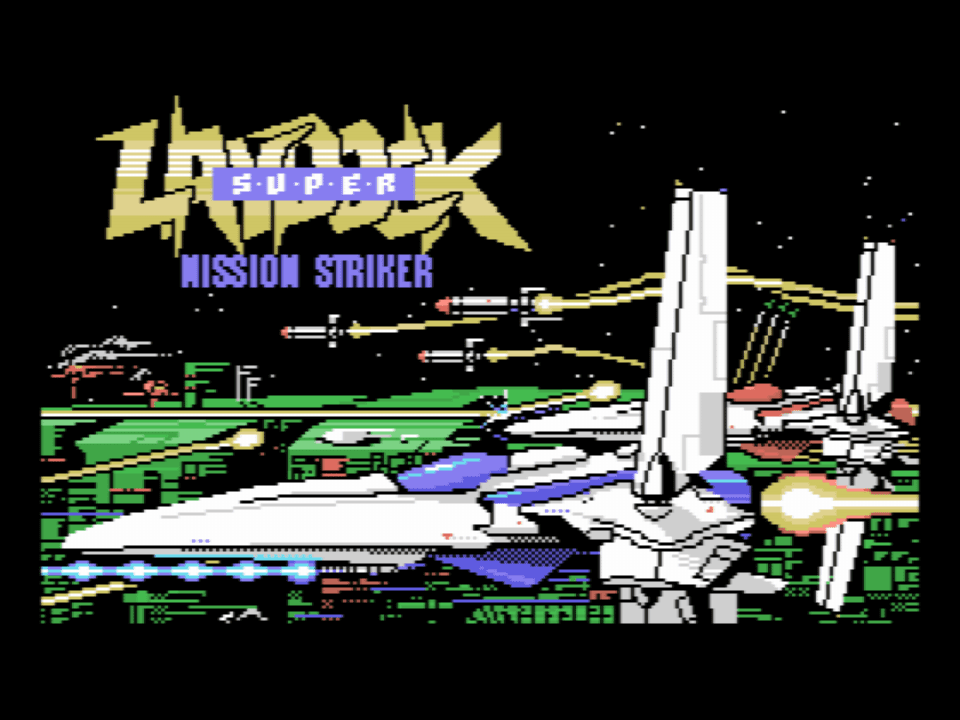 Super Laydock - Mission Striker