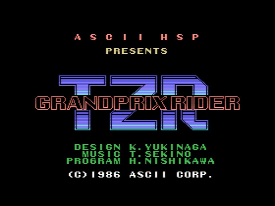 TZR Grandprix Rider