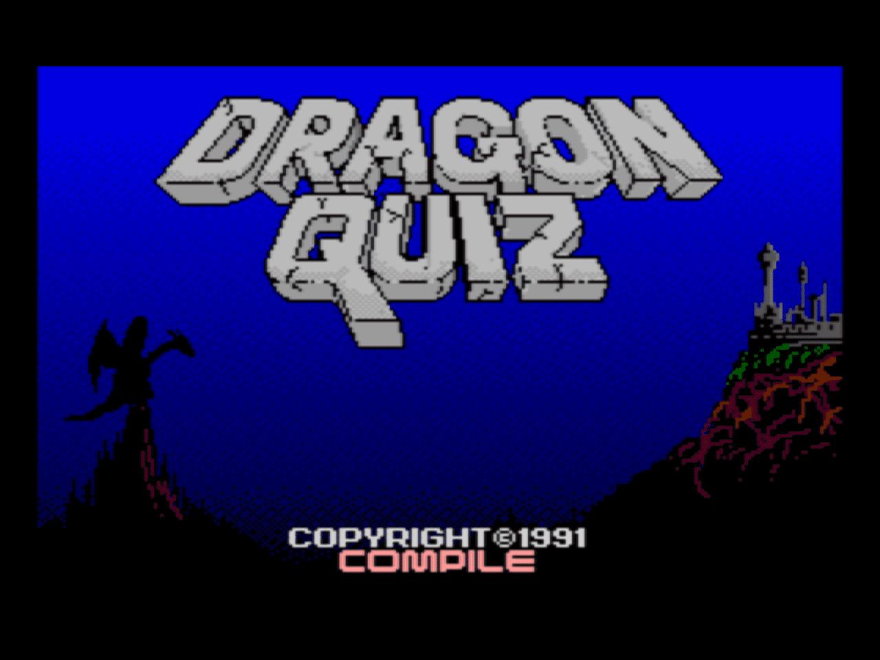 Dragon Quiz