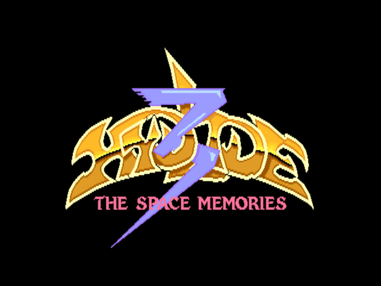 Hydlide 3 - The Space Memories