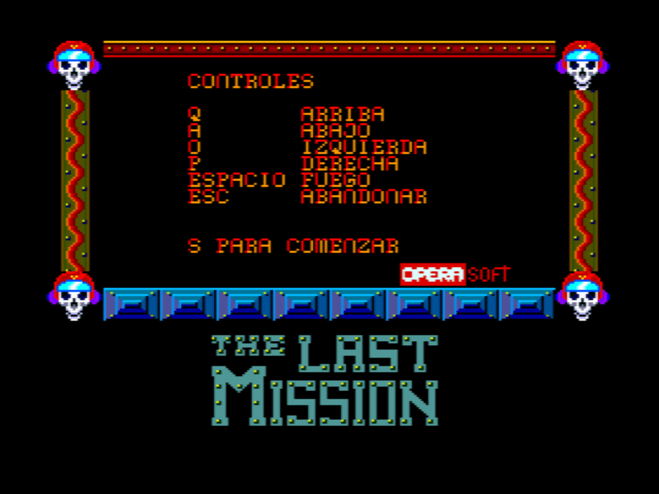 The Last Mission (MSX2)